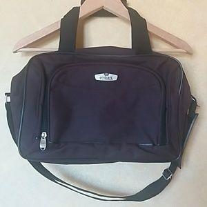 Other - purple shoulder cross body bag travel